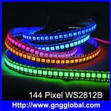 144 leds per meter WS2812B led pixel strip 5050 addressable rgb led strip