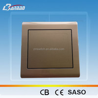 Luxury Brushed 1gang 2 way wall switch antique bronze color