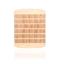 Bamboo food serving board vegetable cutting board