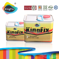 KINGFIX Brand High concentration clear coat 2k for auto repair