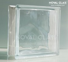 China building material clear glass block