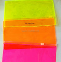 custom reusable visible pvc window paper bag