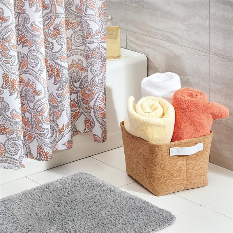 Natural Cork Fabric Storage Bin (6).jpg