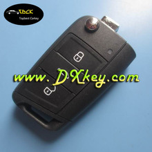 Shock price 3 buttons smart key with 433mhz 48chip for vw car key vw golf remote key 5G0 959 753 BA