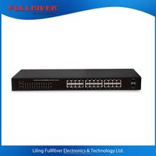 24 Port Gigabit POE switch with 2 giga SFP port with 400W power supply