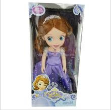 12 inches of evade glue fair young Sharon doll Princess Sophia doll
