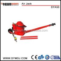 Professional 50 ton heavy duty Air Hydraulic Jack with long ram