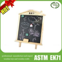 Kids small BlackBoard, Magnetic Board Wooden Easel, 2015 kids painting wooden easel