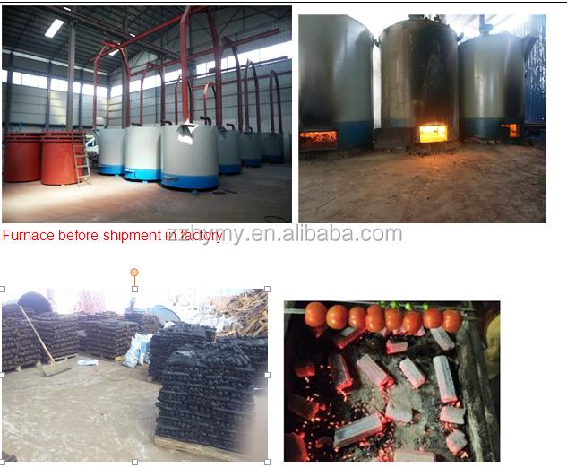 bamboo charcoal furnace