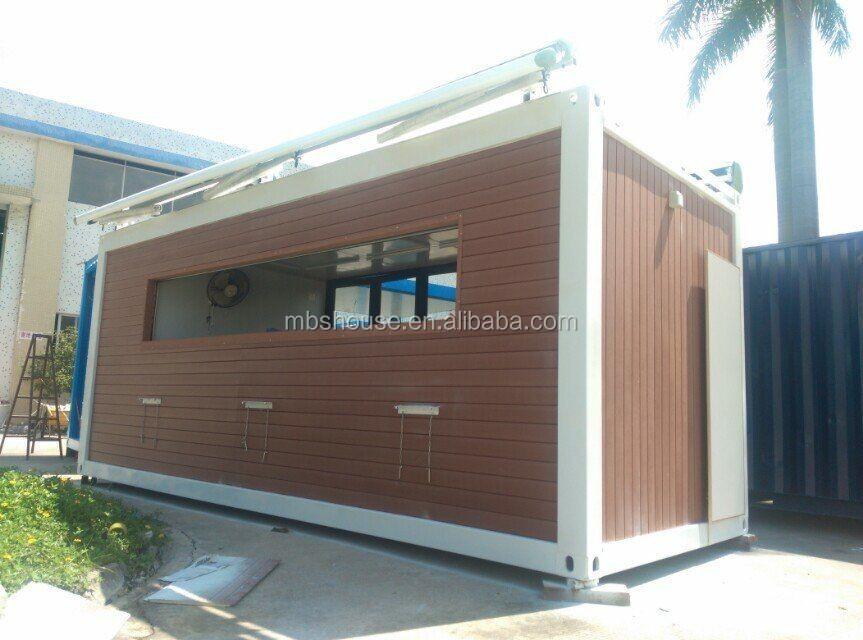 kaufen sie vorgefertigten container caf in low cost. Black Bedroom Furniture Sets. Home Design Ideas