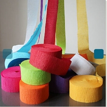 Manufacturer various of Paper Crepe Streamers for party decoration