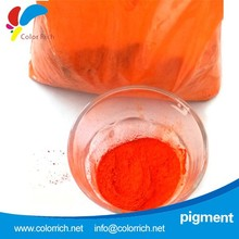 HOT sale best price color paint organic red pigment powder for plastic
