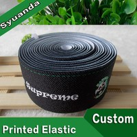 New Fashion Polyester Custom Printed Elastic Bands