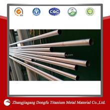 titanium body jewelry piercing / titanium tube/titanium metal