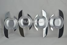 Auto parts accessories ABS Chrome door handle bowl cover for hatchback Suzuki Reno 2010-2012