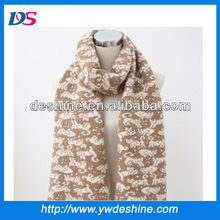 New style wholesale fashion knitted scarf warm fashionable joker for women WJ-014