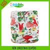 Fashion Baby Cloth Diapers Christmas Reusable Baby Diapers Factory