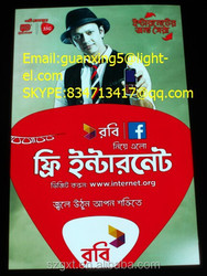 Eyecatching! Customized Flash Advertising Poster/LED Light Poster/EL Lighting Panel