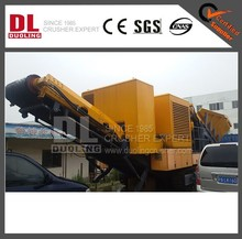DUOLING HIGH EFFICIENCY MOBILE CRUSHER PLANT MEXICO WITH GOOD QUALITY