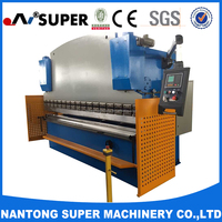 WC67Y 80T/2500 Hydraulic Aluminium Flat Bar Bending Machine