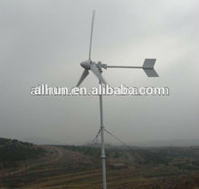 generadores de turbinas de aire en un nuevo stand libre 3kw