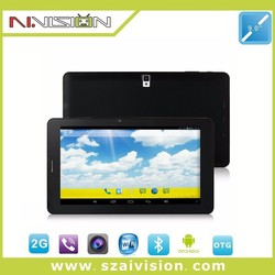 9 inch A23 dual core tablet with flashlight