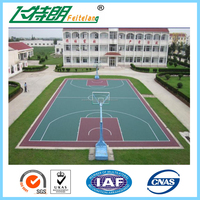 plastic flooring outdoor, sports floor,outdoor pu sports flooring for basketball court, silicon pu flooring