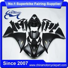 FFKYA006 Fairings For Motorcycle For R1 2009 2010 2011 Matt Black With Only R1 Sticker