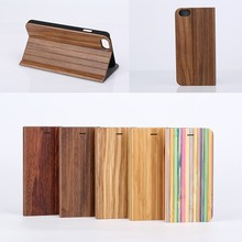 New Wallet wood PU Leather Card Flip Stand Pretty Lovely Case Cover For iPhone 6