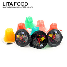 Manufacturing business jelly shot fruit drink tropical fruit cocktail