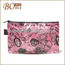 nylon cosmetic bag and make up bag for lady cosmetic bag brush holder