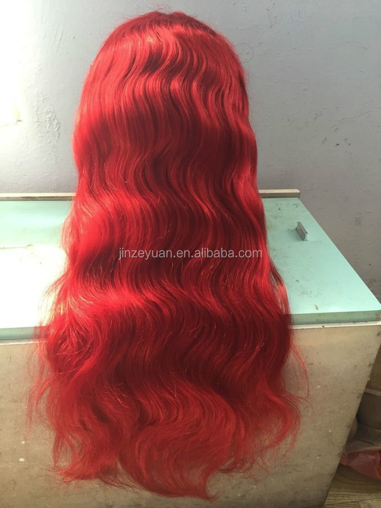 Bright Red Human Hair Weave Prices Of Remy Hair