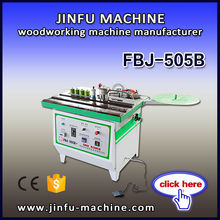 FBJ-505B CE certificate wood machine for double side gluing pvc edge band