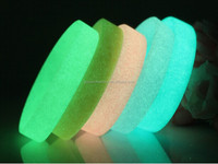 Custom design glow in the dark silicone bracelet,Customized luminous bracelet glow in the dark rubber band bracelets