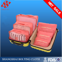 Shanghai Shangshai factory 6pcs set travel storage bag