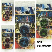 ONE PIECE Silicone Case for PS4//XBOX Stick Cap Pack
