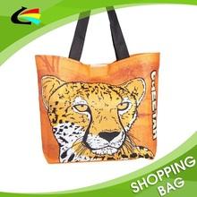 Animal Offset Printed Zoo Promotional Shopping Bag