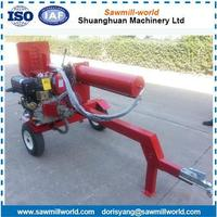 factory sale wood log cutter and splitter with ISO CE certification