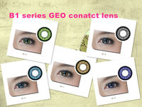 Beauty eyes 2 tone GEO natural look color big eye contact lenses/B1 series from KSD magic color contact lens