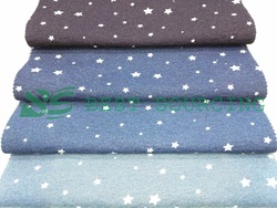 single jersey knit denim fabric