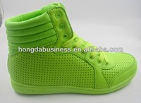 2014 popular lady high ankle skate shoes