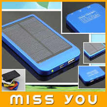 MISSYOU portable solar mobile phone battery charger from shenzhen china