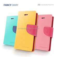 mercury goospery fancy diary leather case,pouch wallet case for Nokia X 1045