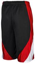 2015New design custom mens basketball 100%polyester mesh shorts