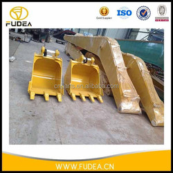 Construction machinery spare parts pc200 mini excavator long reach boom and arm spare parts