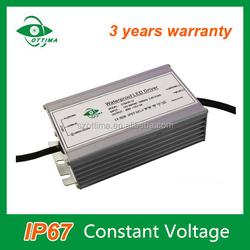 3 years warranty waterproof 110v dc power supply 60w led power 12v 5a