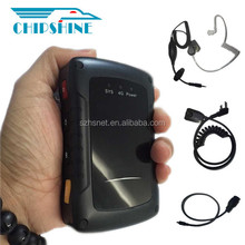 HD 1080P real-time video transmission 3g/ 4g Wifi portable police camera recorder