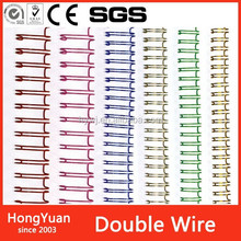 Minerals & Metallurgy hot sale double loop wire binding,pre-cut double loop wire o for book binding,double loop wire o binding l