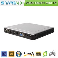 12V ubuntu MINI PC X86 INTEL 1037U thin client support mic and speaker bluetooth