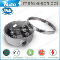 100A single phase residential power electric meter socket for energy meter